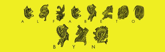 Alfabeto BYN (tipo-gráfico) por quino romero