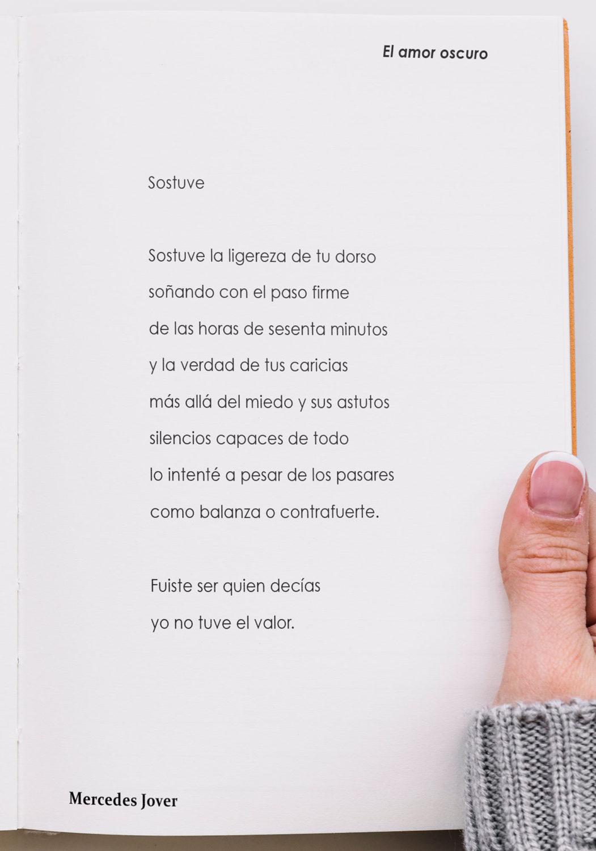 Ediciones Artificiales pesenta El amor oscuro de Mercedes Jover - PGP